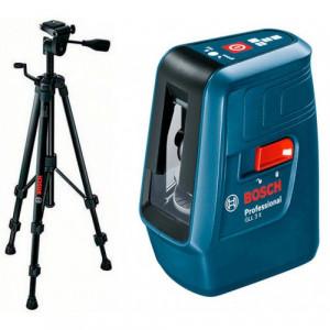 Лазерный нивелир Bosch GLL 3 X + штатив BT 150