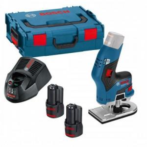 Аккумуляторный кромочный фрезер Bosch GKF 12V-08 (06016B0000)