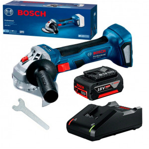 Аккумуляторная угловая шлифмашина (болгарка) Bosch Professional GWS 180-LI (06019H9025)