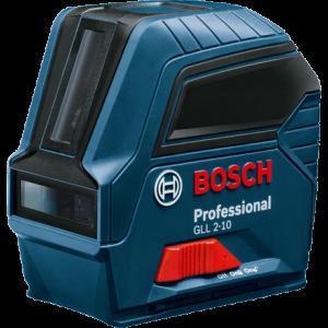 Линейный лазерный нивелир Bosch GLL 2-10 Professional (7438894789)